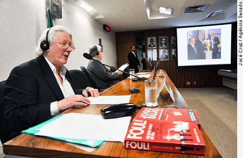 Andre Jennings, vna Comissão de Educação do Senado Federal - Foto Senado federal