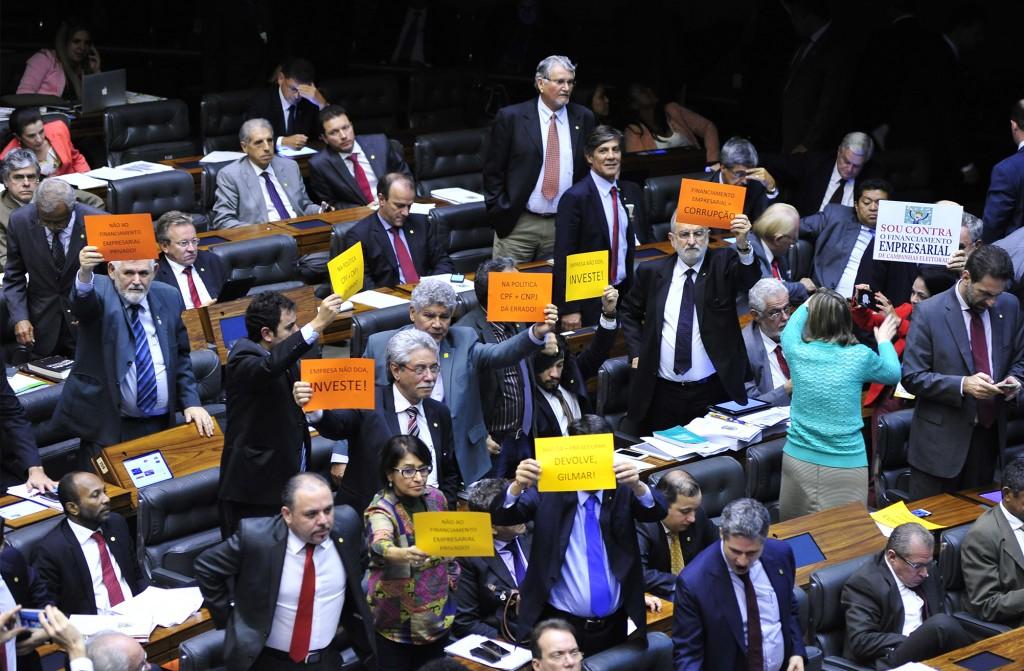 Votação da reforma Política  Foto Luis Macedo / Câmara dos Deputados