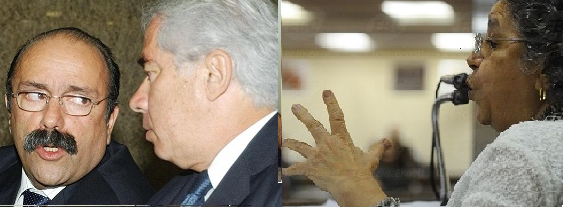 Luiz Eduardo Greenhalgh, Luiz Carlos Sigmartinga Seixas (foto Rosa Brasil/Abr) e Eny Moreira (Foto Abr.)