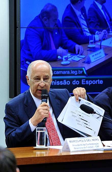 Del Nero depõe na Câmara dos Deputados - Foto: Alex Fernandes/Agência Câmara