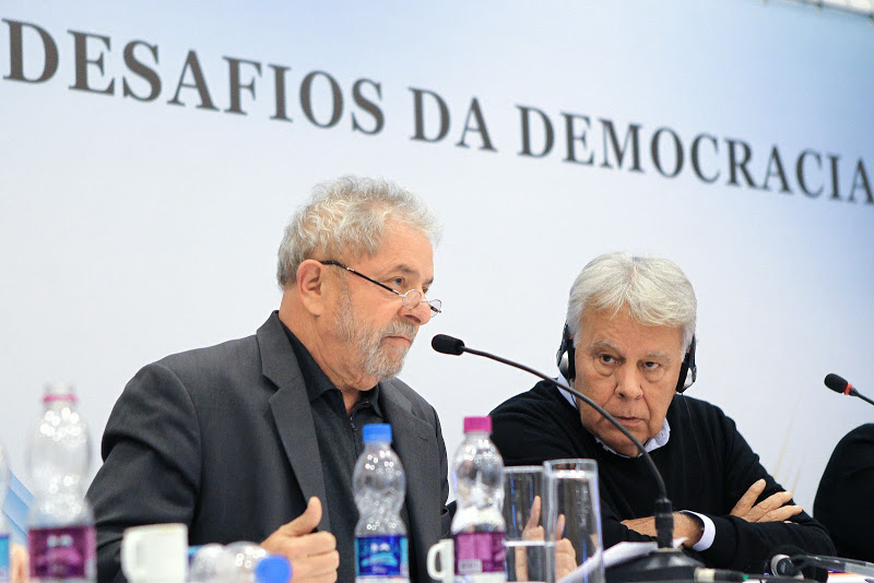 Lula e Felipe Gonzalez no Seminário Novos Desafios da Democracia 20 - Foto Heinrich Aikawa/Instituto Lula