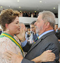 Lula e Dilma na posse do segundo mandato dela - Foto: Ricardo Stuckert/ Instituto Lula