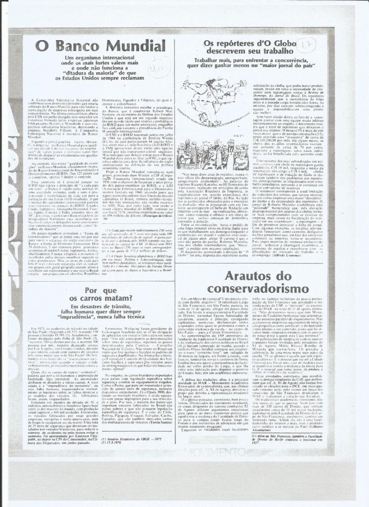 Movimento, edição nº 60 - 23 de agosto de 1976