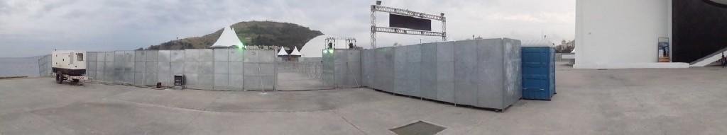 Caminho NIemeyer, fechado ao público por conta de eventos privados. Quem lucra com isso?? Foto: Formiga