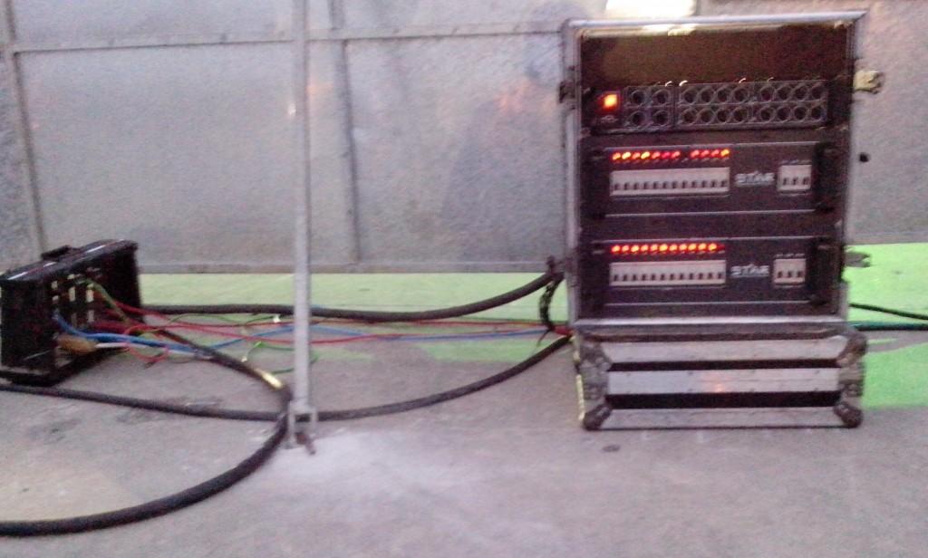 Ligações elétricas expostas aumentam o risco do evento? Foto: Formiga