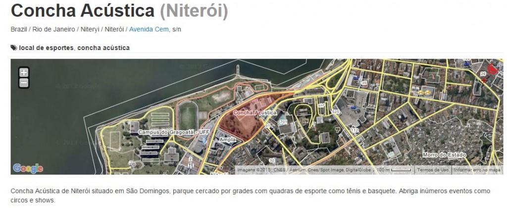 Niterói possui uma Concha Acústica, no próprio Caminho Niemeyer, teoricamente para eventos como este. O que impede seu uso em shows como esse?