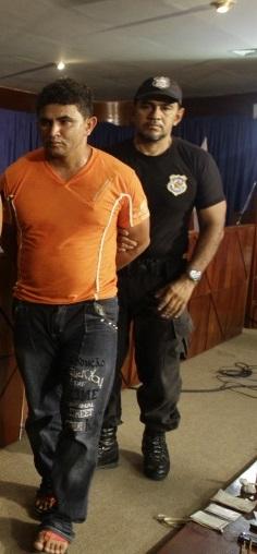 Lindonjonson: pistoleiro condenado a 42 anos de cadeia foi beneficiado na penitenciária de Marabá e fugiu. Foto: reprodução site Bote Fé