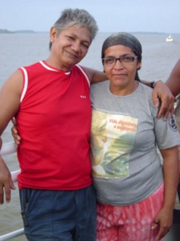 O casal de extrativistas José Cláudio Ribeiro da Silva e Maria do Espírito Santo foram mortos a tiros em estrada em Nova Ipixuna (PA) (Divulgação-Arquivo CNS)