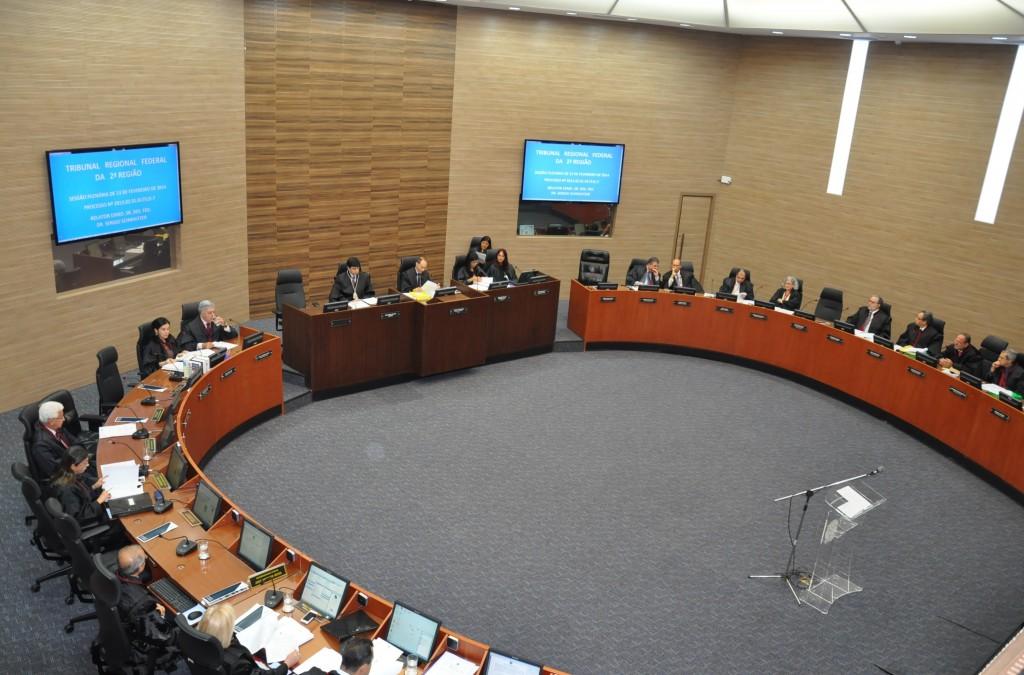 No plenário do TRF-2 apenas 18, dos 27 desembargadores, decidem o futuro do juiz Macário Júdice Neto