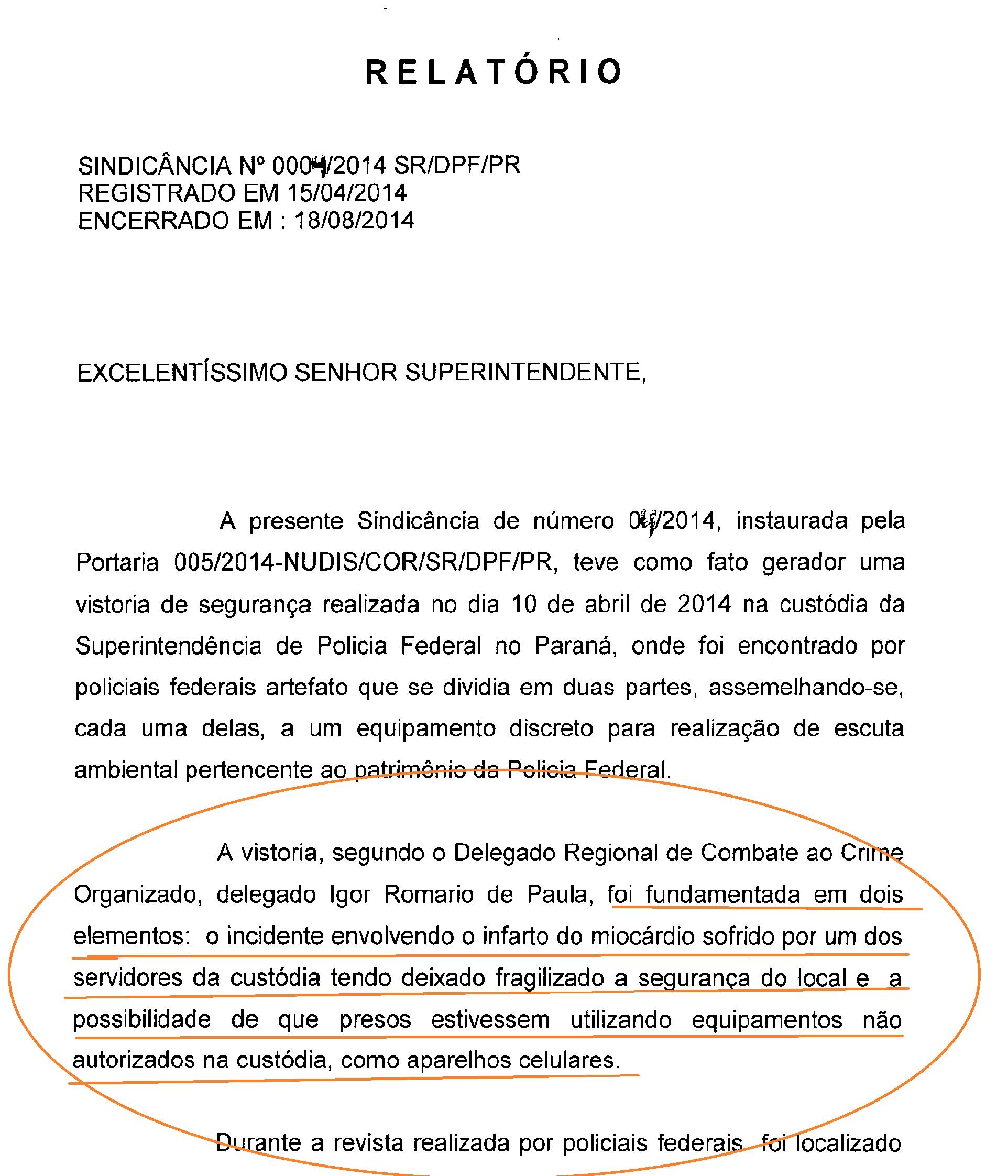 Exemplo de relatorio administrativo