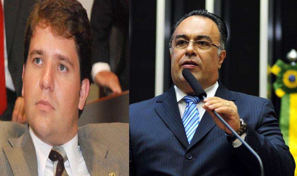 Luis Argolo e Andre Vargas  um deles (ou os dois) pode(m) ter sido alvo(s) deos pedidos feitos irregularmente - Fotos Angência Câmara