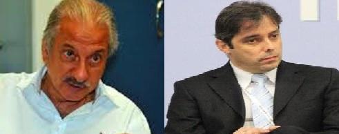 José Antunes Sobrinho (esq.) e Flávio David Barra - Foto Reprodução Site 247