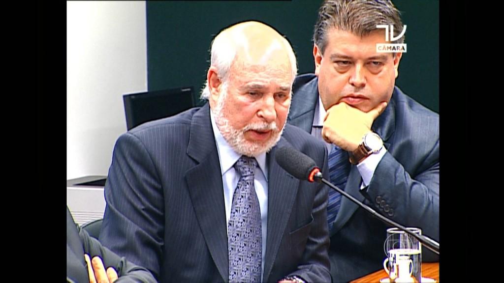 Julio Faerman no depoimento na CPI da Petrobras