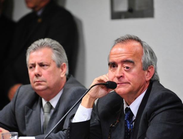 Nestor Cerveró e Edson Ribeiro Câmara dos Deputados 10.09.2014 Foto Gustavo Lima - Agência Câmara dos Deputados