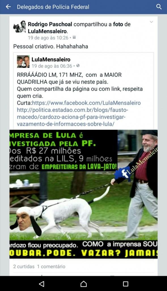 cardozo cachorrinho de Lula
