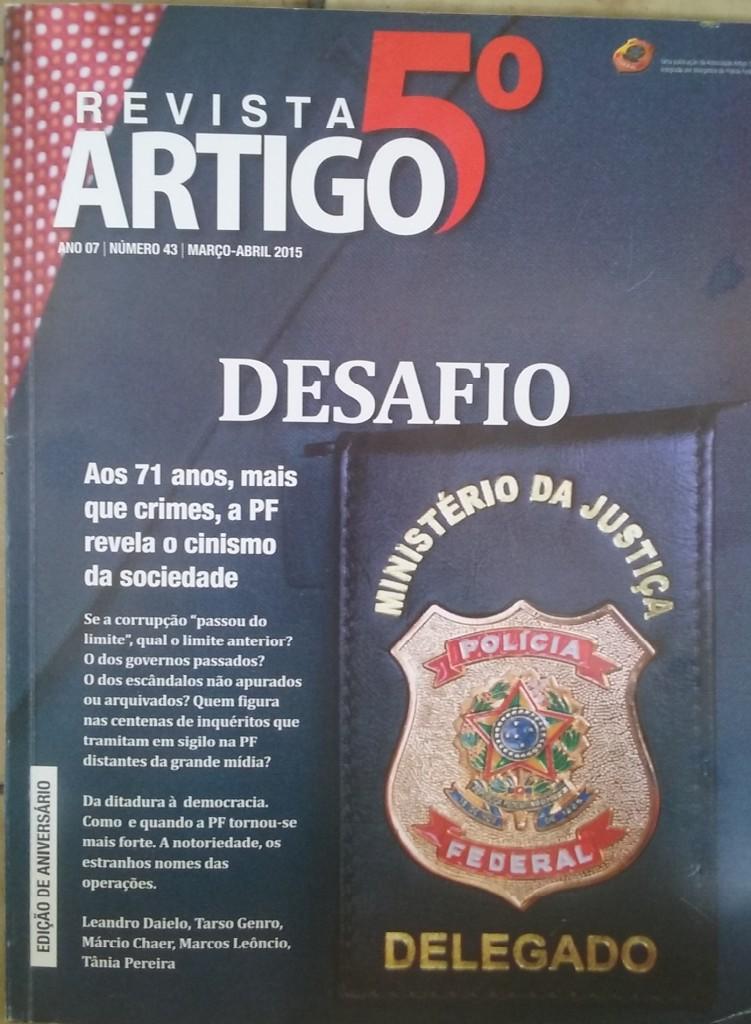 Revista Art. 5ª, edição 43, março/abril de 2015
