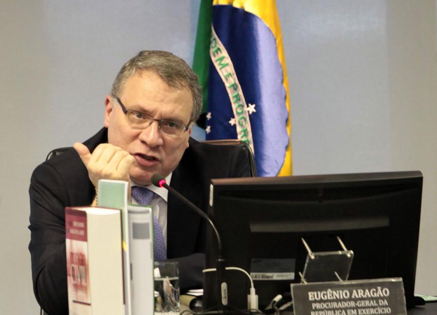 O anúncio da nomeação de Eugênio Aragão preocupa delegados da Polícia Federal os quais, no passado, representaram contra o hoje subprocurador.A discussão foi em torno de vazamento de documentos de operações policiais. Foto: Gil Ferreira/Agência CNJ.