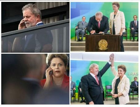 Ao dar posse a Lula na manhã desta quinta-feira, Dilma prometeu apurar em detalhes o grampo, que considerou ilegal, da conversa dela com o ex-presidente. Pode começar auditando o Guardião da Superintendência do DPF no Paraná. Foto reprodução do Jornal GGN
