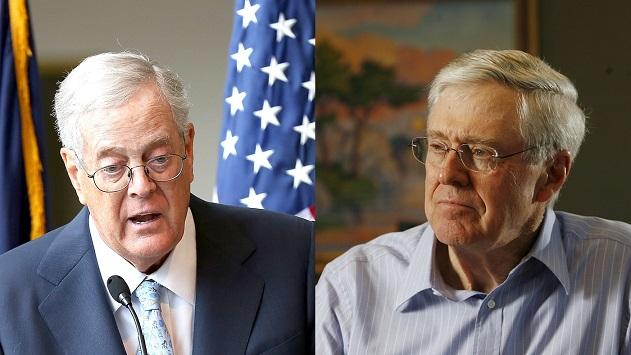 Veríssimo defende que se investigue as ligações dos irmãos David e Charles Koch com a crise brasileira.Foto- reprodução da Internet
