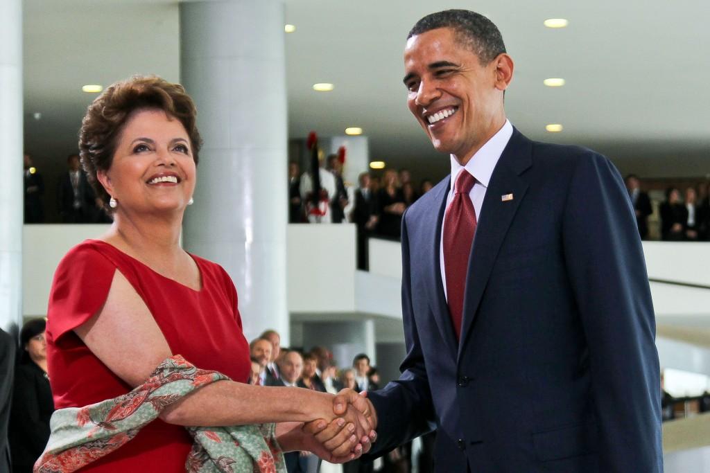 Por anos, o relacionamento de Dilma e Obama foi instável, e significativamente afetado pelas denúncia da presidente à espionagem da NSA,. Foto: planalto.gov.br
