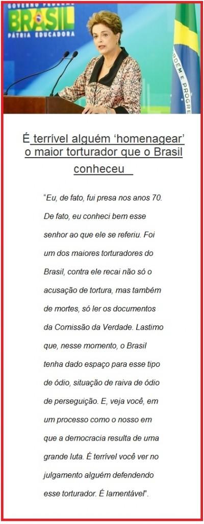 Dilma Riousseff em Nova Iorque comenta  posição de Bolsonaro Foto Roberto Stuckert Filho - PR 22.04.16