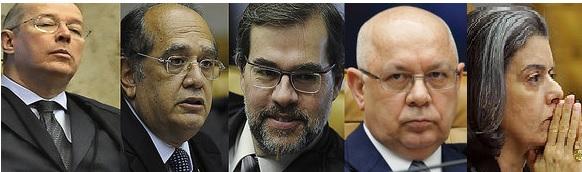 Cunha pode estar fazendo a jogada que o levaria à absolvição pela segunda turma do STF como já aconteceu antes. Fotos: Ascom/STF