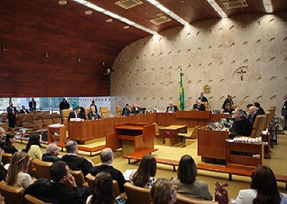 O Supremo está tendo seu papel no golpe: silenciou sobre as acusações de crimes de responsabilidade da presidente, Foto: Ascom/STF