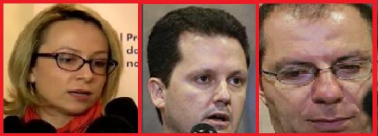 O DPF Moscardi assume a coordenação, mas na Lava Jato quem manda mesmo é o triunvirato Erica, Igor e Marcio Adriano. Foto reproduções