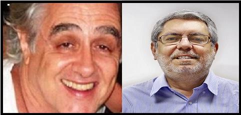 Laerte Rimolli (esq.) indicado por Temer para o lugar de Ricardo Melo,  nomeado em maio por Dilma.n (Fotos Reproduções)