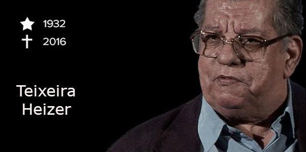 Teixeira Heizer, um nome que marcou época no jornalismo brasileiro.
