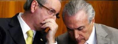 temer e Eduardo Cunha