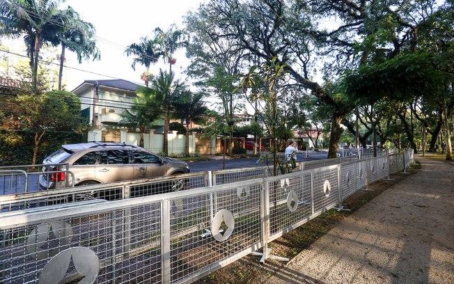 O GSI cercou a casa do presidente interino no bairro de Alto de Pinheiros, mas o MST foi ocupar o gabinete da Presidência, na Av. Paulista. Foto: Reproduçãoi