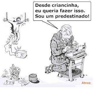 Charge general frances Paul Aussarresses (compartilhada do site www.correiodobrasil.com.br)