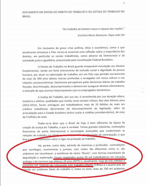 Manifesto Ministro TST1