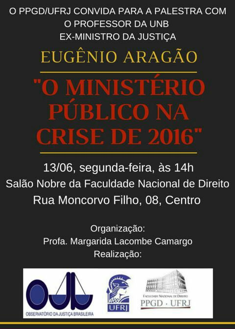palestra do Eugenio aragão UFRJ