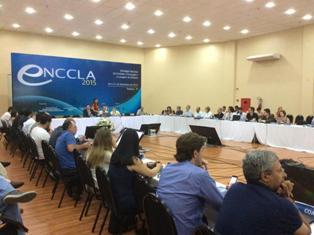 Na reunião da ENCCLA até a Associação Nacional dos Delegados de Polícia Federal (ADPF) participa, como eles próprios anunciam em seu site, de onde retiramos esta foto.