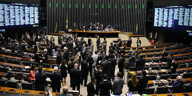 sessão do Congresso Nacional