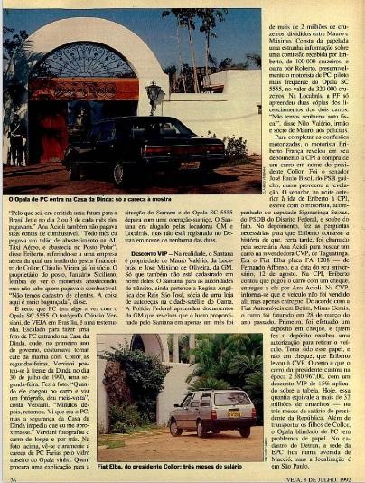VEJA no carro do amigo edic. 08.07.1992 pág26
