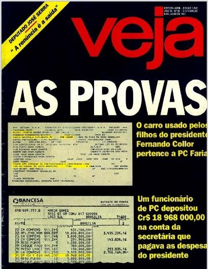 Veja  No carro do amigo edição 08.07.1992