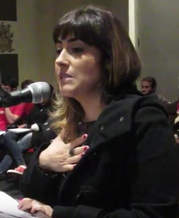 Yasmin Cascone da Rede Feminista de Juristas - Foto: Marcelo Auler