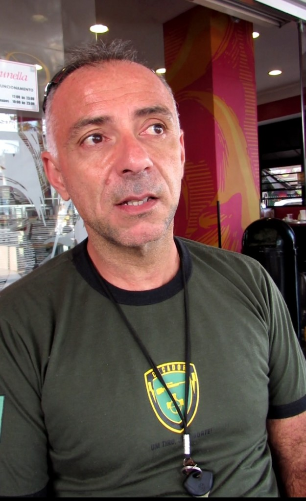 O DPF Cássio Nogueira só falou os detalhes da investigação que fez por estar hoje aposentado. Foto Marcelo Auler
