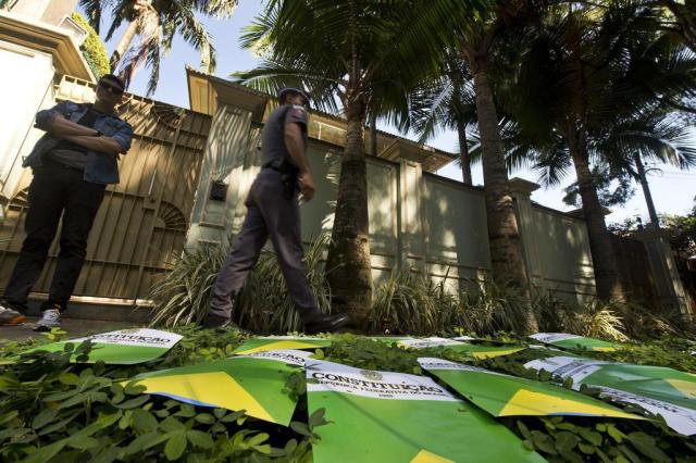 Casa de Temer no Alto de Pinheiros. Reprodução Zh clicrbs.com.br