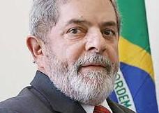 Lula e a bandeira
