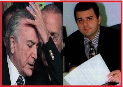 A lerdeza dasinstituições em apurar crimes supostamente cometidos entre 1995 e 1998 e denunciados em 2000, beneficiou Michel YTermer e Marcelo de Azeredo. A impunidade foi garantida, mais uma vez. Fotos: reproduções