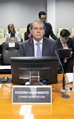 Conselheiro Rogério Nascimento:              Foto: Gil Ferreira/Agência CNJ