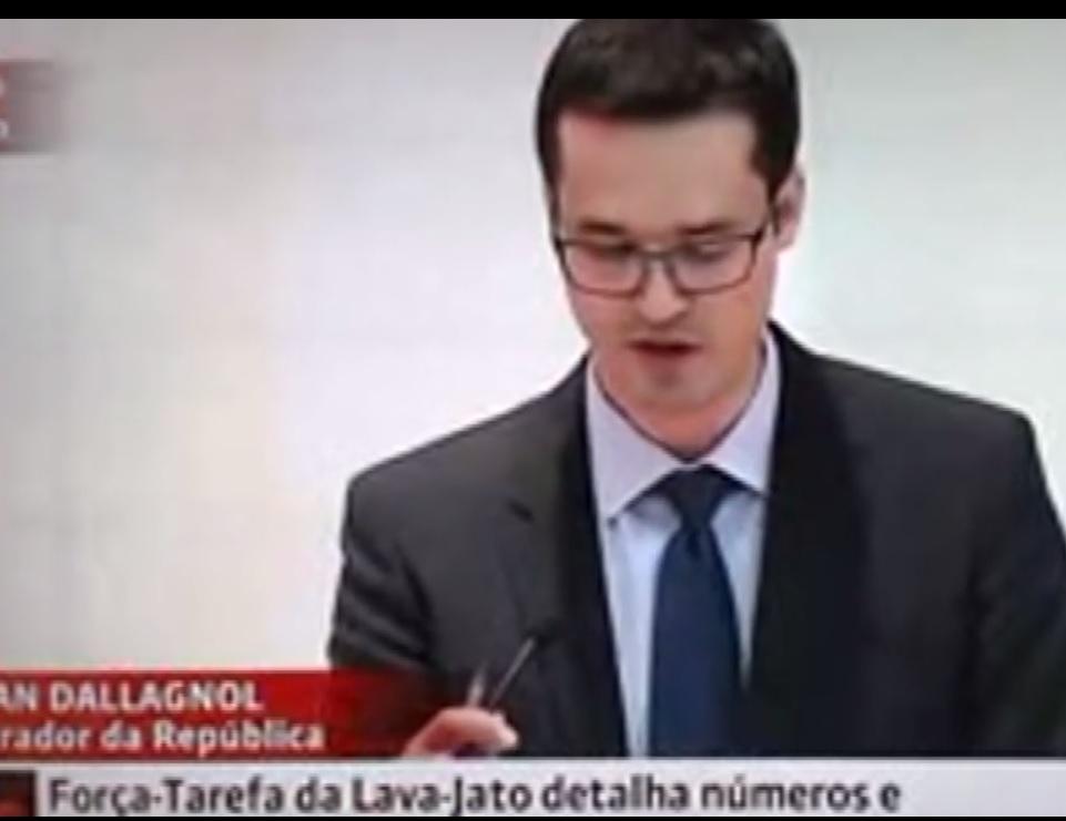 dallagnol na entrevista que apontou Lula como o chefão