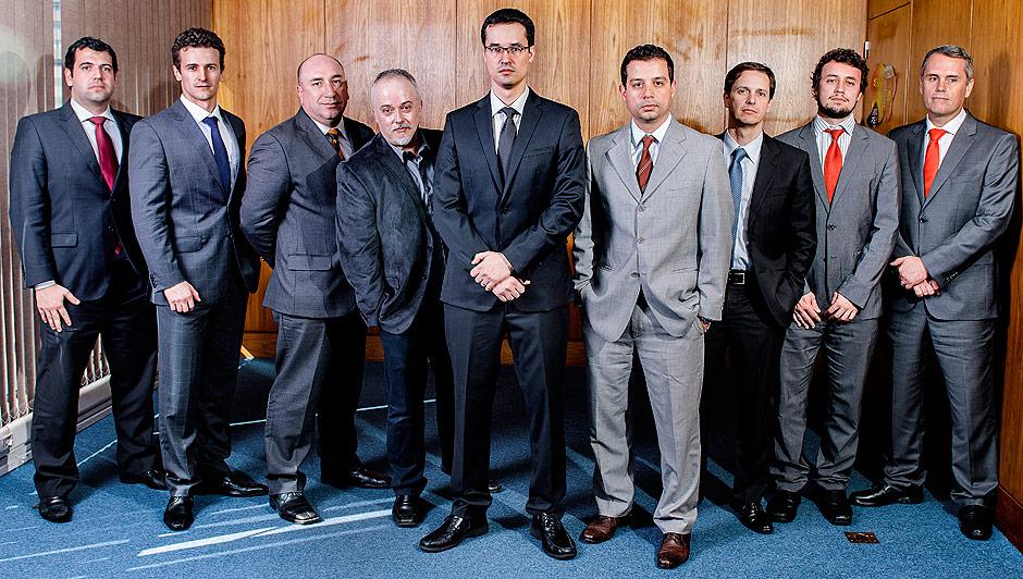 Procuradores do Paraná que parficipam da Força Tarefa da Lava Jato. Foto: reprodução da internet
