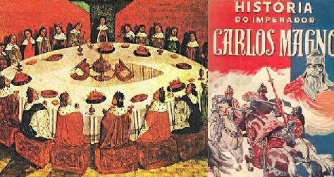 Rei arthur e Carlos Magno