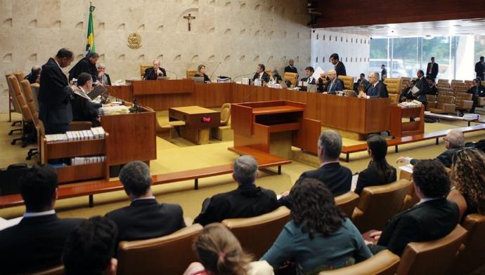votação do processodo impeachment no STF Foto Rosinei Coutinho - SCO-STF- CP